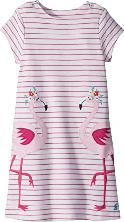Joules Kids - Jersey Applique Dress (Toddler/Little Kids)