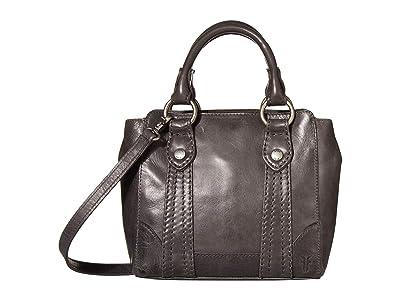 Frye Melissa Mini Tote Crossbody (Carbon) Handbags