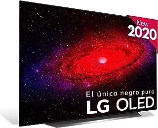 "LG OLED65CX - Smart TV 4K OLED 164 cm (65"") con Inteligencia Artificial, Serie C, Procesador Inteligente α9 Gen3, Deep Lea..."