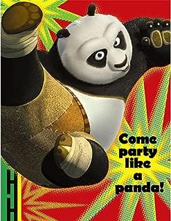 Kung Fu Panda '2' Invitations w/ Envelopes, Birthday, Parties, Party Supplies (8-ct. Pack)