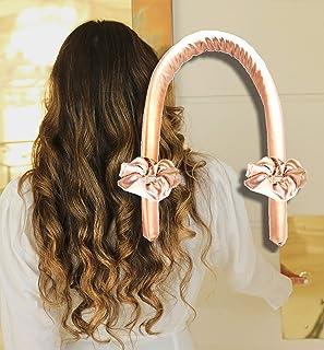 Pure Silk Heatless Hair Curling Ribbon Rod