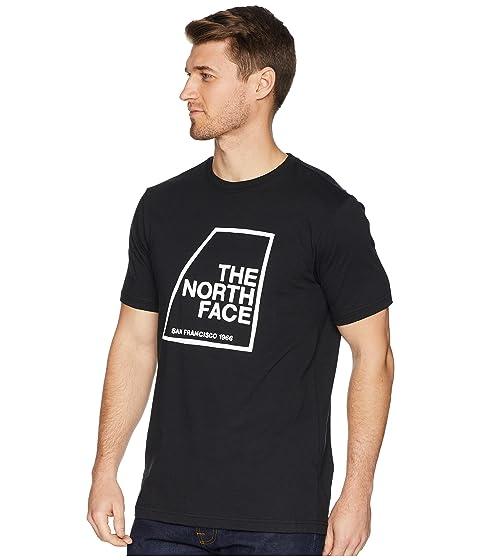 camiseta Face corta The retro manga TNF de North negro q4FFwx1