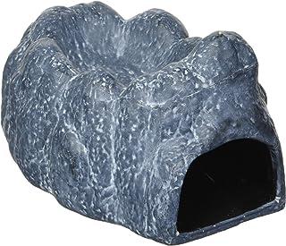 Exo Terra Wet Rock Moisture Retaining Ceramic Reptile Cave, M, 480 g