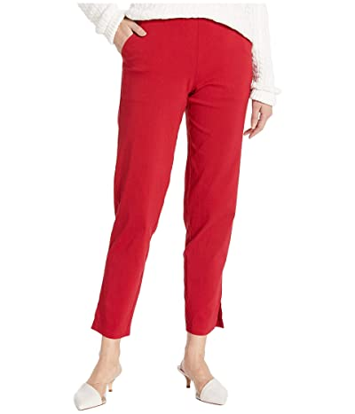 HUE Temp Tech Trouser Leggings (Deep Red) Women