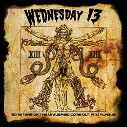 Wednesday 13 - Monsters of the Universe: Come Out and Plague Gold (2019) LEAK ALBUM