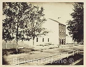 Historic Pictoric Photo : Slave Pen, Alexandria, Virginia, William R. Pywell, c.1865, Vintage Wall Decor : 48in x 36in