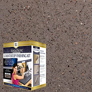 Daich DCT-MNS-IRN Quart Spreadstone Mineral Select Countertop Refinishing Kit, Iron Stone