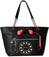 Betsey Johnson - Hold Please Phone Tote