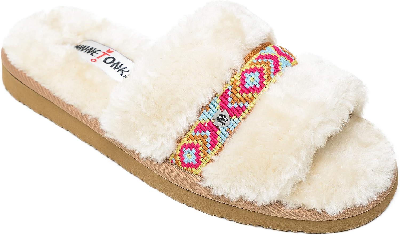 Minnetonka Women's London Slipper Sandal