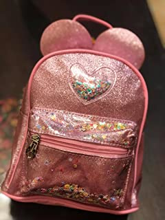 Girls Rabbit Ears Backpack_pink (pink, 10-10)
