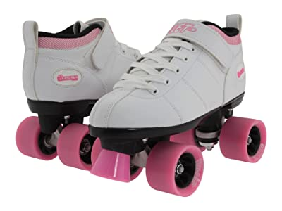 Chicago Skates Girls and Bullet Speed Skate (White) Women