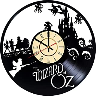 Wizzard of Oz Vinyl Wall Сlock Dorothy Gale Gift The Wonderful Wizard of Oz Wall Decor Home Living Room Wall Art Handmade Decorations