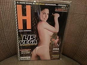 H Para Hombres Revista / Magazine Enero 2008 / January Lis Vega Cover