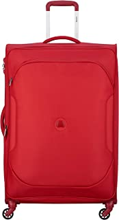 Delsey Paris 00324882104 Children's Softside Luggage, Red, 79 Centimeters