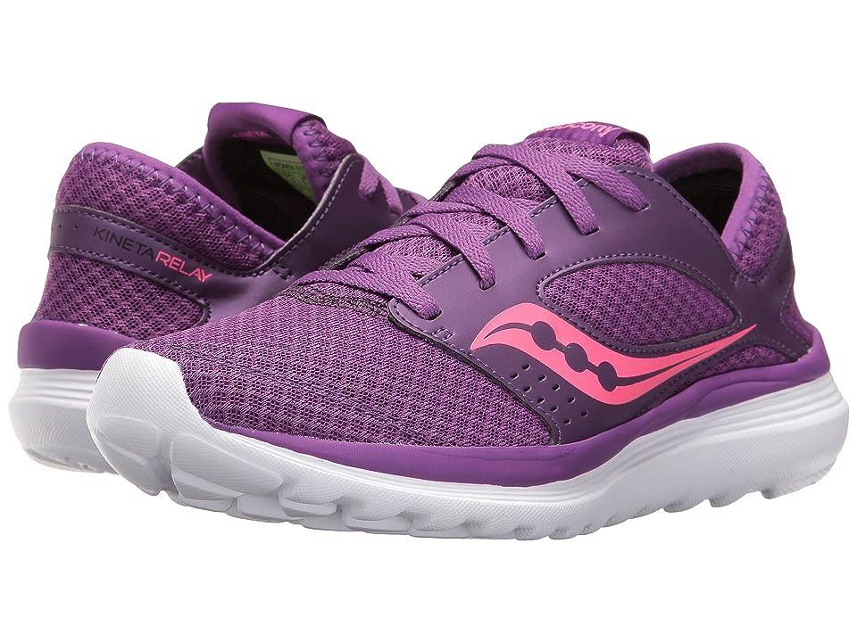 Saucony Kineta Relay (Purple/Pink) Women