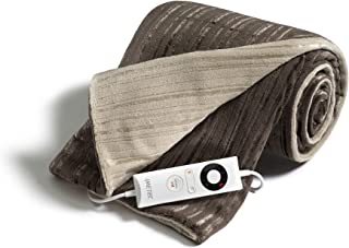 Imetec Intellisense manta eléctrica individual de 150 x 90 cm, manta eléctrica con tecnología Intellisense, microfibra sua...