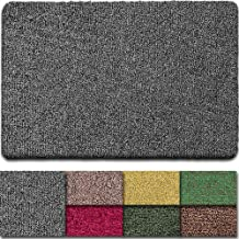 "BEAU JARDIN Indoor Doormat Super Absorbs Mud Mat 47""x 28"" Latex Backing Non Slip Door Mat for Front Door Inside Floor Dirt..."