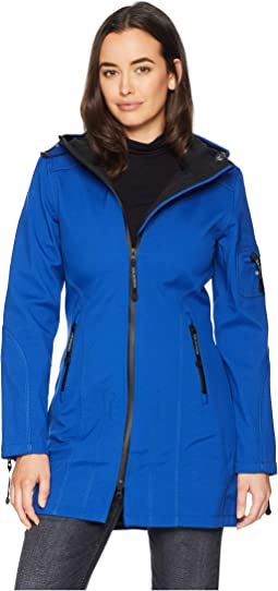 Women s Blue Rain Jackets and Trench Coats + FREE SHIPPING  768dddaa7