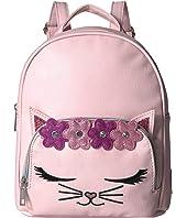 Flower Crown Kitty Mini Backpack