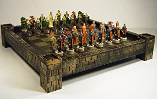 WW / HPL Medieval Times Robin Hood vs Sheriff of Nottingham Chess Set w/ 17