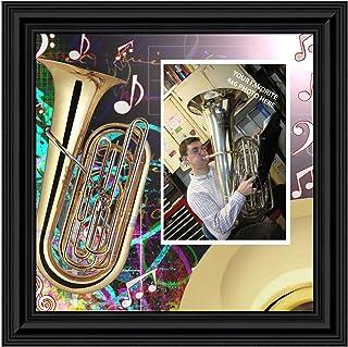 Class of 2021 Tuba Sousaphone Player Marching Band Senior Grad Graduation Recital Marching Band Tuba Sousaphone Charm Keychain Music Gift