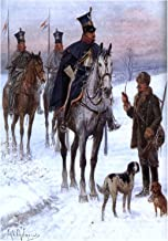 Painting CHELMINSKI Duchy Cavalry Napoleonic WAR Art Print Picture F12X671