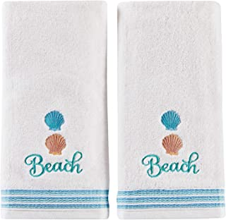 SKL Home by Saturday Knight Ltd. South Seas 2-Piece Hand Towel Set, White