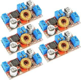 JacobsParts XL4005 5A DC Buck Step Down Voltage Converter Constant Current Adjustable Power Module (5-Pack)