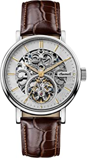 The Charles Gents Automatic Watch I05801 with a Stainless Steel Case and Genuine Leather Strap