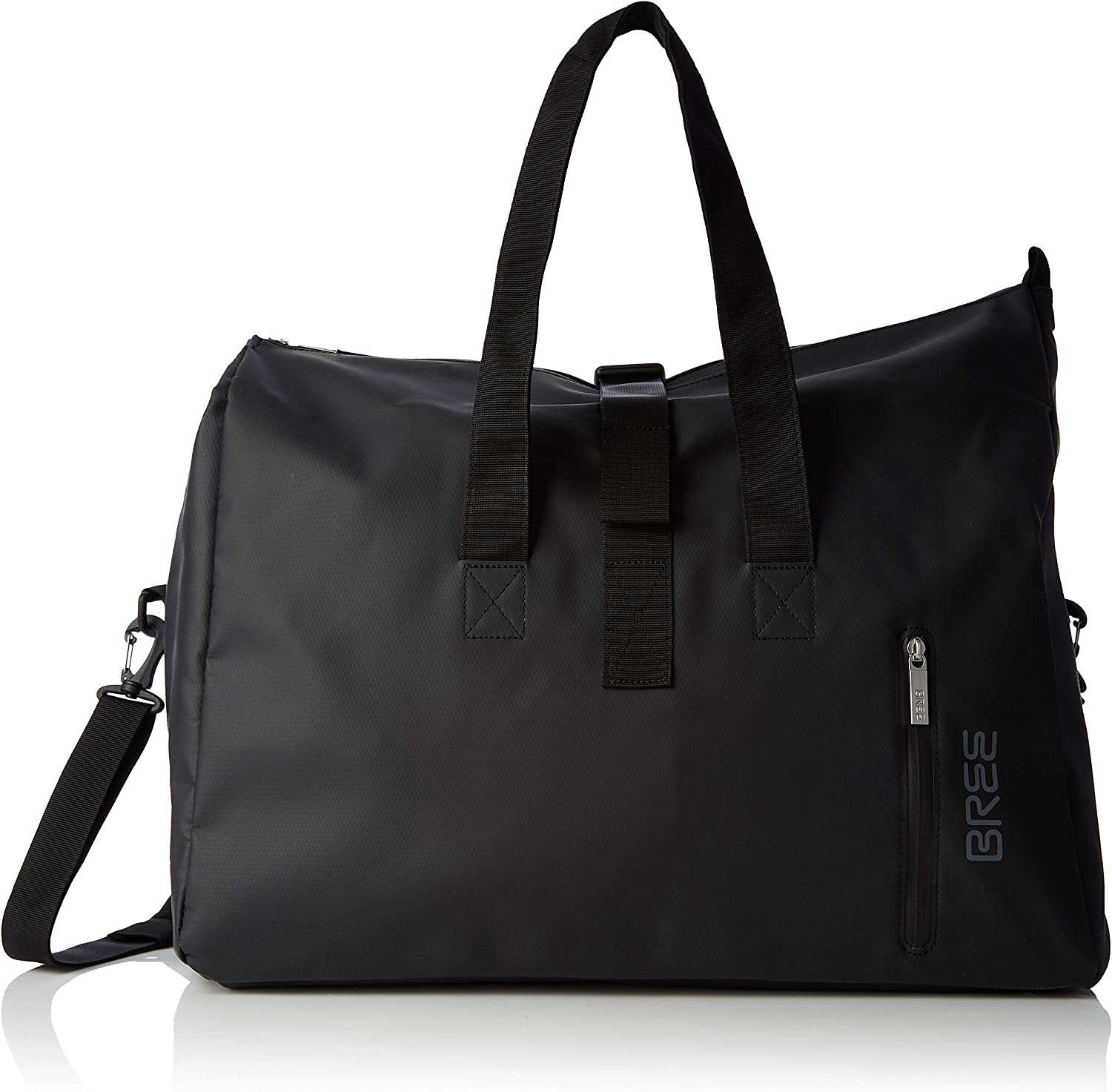 BREE Collection Punch 723, Black, Weekender S, Unisex Adults' TopHandle Bag, 25x44x50 cm (B x H T)
