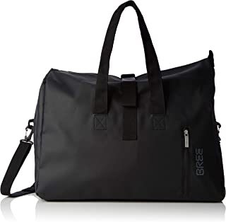 BREE Collection Punch 723, Black, Weekender S, Unisex Adults' Top-Handle Bag, 25x44x50 cm (B x H T)