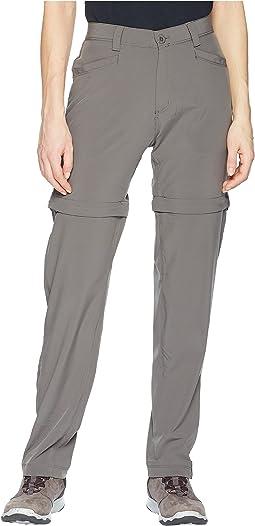 White Sierra Mt. Tamalpais Stretch Convertible Pants