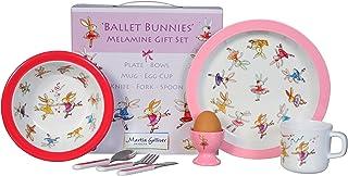Martin Gulliver Designs Nursery Rhymes Melamine Gift Set Multi-Colour 23 x 23 x 7 cm