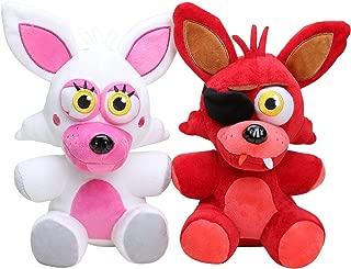 Five Nights at Freddy's Mangle Plush & Foxy Plush set of 2, 10inch