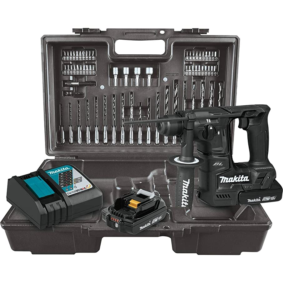 Makita XRH06RBX 18V LXT Lithium-Ion Sub-Compact Brushless Cordless 11/16