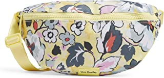 Vera Bradley Women's Recycled Lighten Up Reactive Convertible Crossbody Belt Bag with RFID Protection Purse