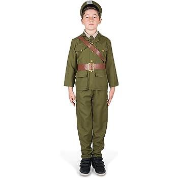 Disfraz militar niño: Amazon.es: Juguetes y juegos