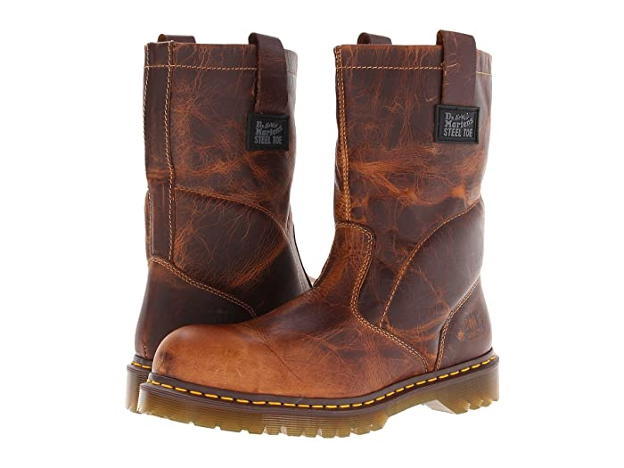 Dr. Martens Work  2295 Rigger (Tan Greenland) Work Pull-on Boots