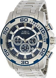 Invicta 22319 Pro Diver - Scuba Men's Wrist Watch Stainless Steel Quartz Blue Dial
