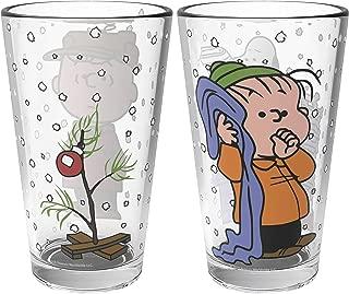 peanuts drinking glasses