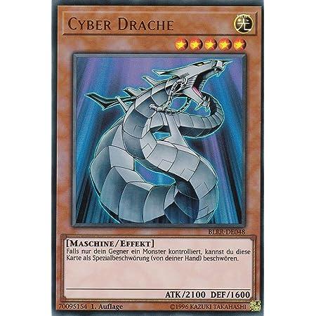CYBER DRACHE BLRR-DE048 ULTRA RARE 1.AUFLAGE