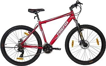 Firefox Bikes Cyclone 27.5T, 21 Speed Mountain Bike (Matt Red) I D Brake