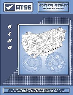 ATSG 6L80E GM THM Manual de reparo de transmissão (6L80E Transmissão - 6L80E Transmission Pan - Melhor livro de reparo dis...
