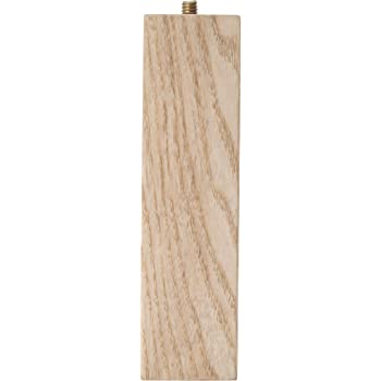Waddell 2656 Ash Parsons Table Leg, 6""