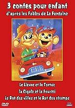 3 contes pour enfant daprès les Fables de La Fontaine : Le Lièvre et la Tortue - La Cigale et la Fourmi - Le Rat des Villes et le Rat des Champs