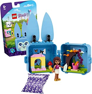 LEGO 41666 Friends Andrea's Bunny Cube Series 4 Mini Set, Collectible Travel Toy & Room Decor