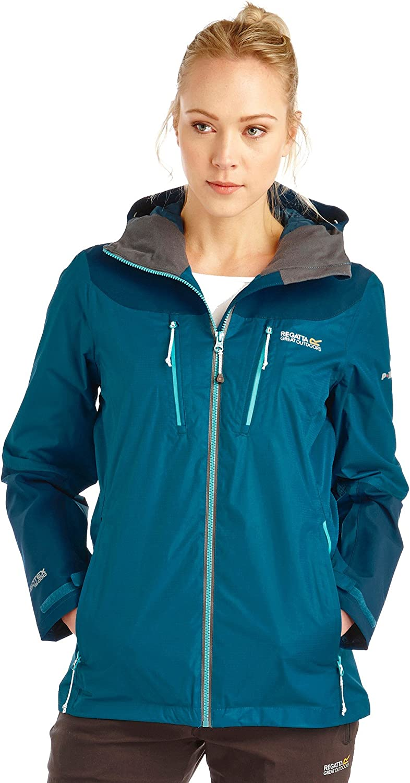 Regatta Great Outdoors Womens Ladies Cross Penine Waterproof Shell Jacket