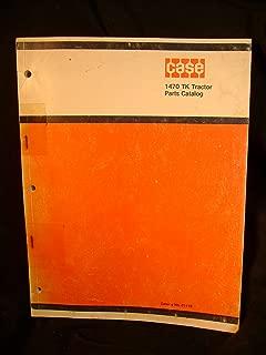 Case 1470 TK Tractor Parts Catalog Manual