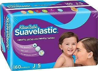 KleenBebé Suavelastic, Pañales Unisex, Jumbo, 60 Piezas