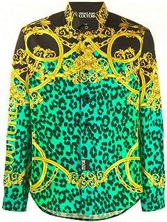 Versace Jeans Couture Men's Leo Chain Print Shirt